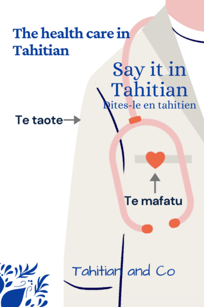 Doctor dress. To learn the health care system in Tahitian